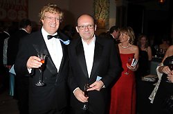 Left to right, GUY HANDS and MICHAEL SPENCER at the Royal Academy of Art's Summer Ball held at Burlington House, Piccadilly, London on 16th June 2008.<br />
