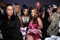 Kim Kardashian, and Dascha Polanco attend Klarna STYLE360 NYFW Hosts S by Serena Fashion Show