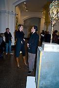 SAFFRON ALDRIDGE; MATTHEW WILLIAMSON, Mythologies. Haunch of venison. 6 Burlington Gardens. London. 10 March 2009 *** Local Caption *** -DO NOT ARCHIVE-© Copyright Photograph by Dafydd Jones. 248 Clapham Rd. London SW9 0PZ. Tel 0207 820 0771. www.dafjones.com.<br /> SAFFRON ALDRIDGE; MATTHEW WILLIAMSON, Mythologies. Haunch of venison. 6 Burlington Gardens. London. 10 March 2009