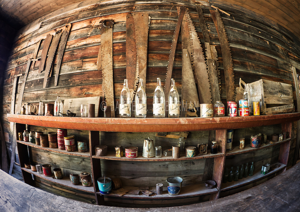 The General Store in the Garnet ghost town, Montana.