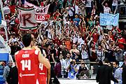 DESCRIZIONE : Bologna Fiba Europe EuroChallenge Men Final Four 2014 Final Grissinbon Reggio Emilia Triumph Lyubertsy<br /> GIOCATORE : team<br /> CATEGORIA : esultanza tifosi<br /> SQUADRA : Grissinbon Reggio Emilia<br /> EVENTO : Fiba Europe EuroChallenge Final Four 2014<br /> GARA : Grissinbon Reggio Emilia Triumph Lyubertsy<br /> DATA : 27/04/2014<br /> SPORT : Pallacanestro <br /> AUTORE : Agenzia Ciamillo-Castoria/M.Marchi<br /> Galleria : Fiba Europe EuroChallenge Final Four 2014<br /> Fotonotizia : Bologna Fiba Europe EuroChallenge Men Final Four 2014 Final Grissinbon Reggio Emilia Triumph Lyubertsy<br /> Predefinita :