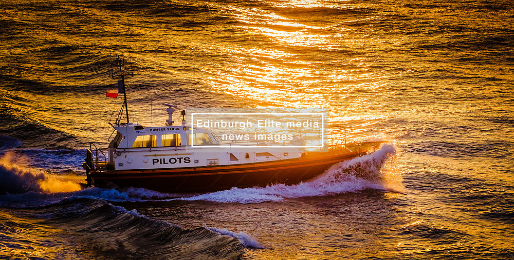 "The Pilot Cutter ""Humber Venus"" in the Humber estuary in evening light.<br /> <br /> (c) Andrew Wilson 
