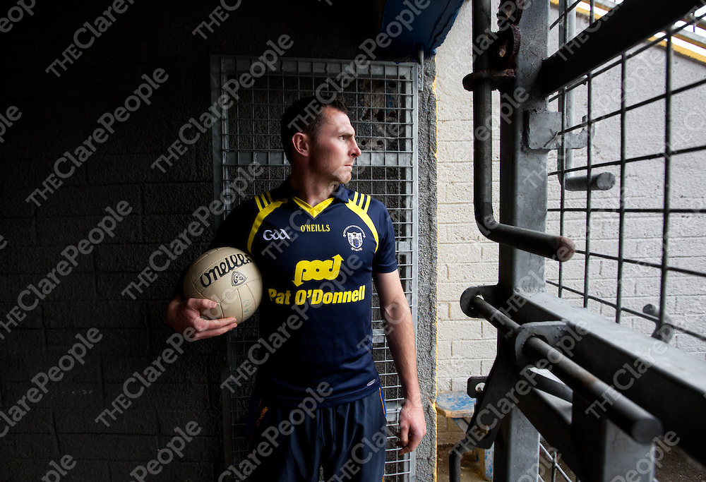 31/5/12<br /> Clare Footballer Alan Clohessy before a recent training session at Cusack Park.  Pic Press 22.