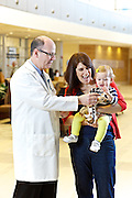 Photos taken of Dr. Waggoner and Katie Balogh at Ahuja Medical Center on Thursday, January 31, 2013.