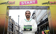 2018 London Landmarks Half Marathon - 25 March 2018