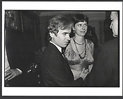 Mr. and Mrs. Martin Amis. Holland Park. 1985 Exhibition in a Box