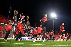 ADELAIDE, AUSTRALIA - Sunday, July 19, 2015: Liverpool's Dejan Lovren during a training session at Coopers Stadium ahead of a preseason friendly match against Adelaide United on day seven of the club's preseason tour. (Pic by David Rawcliffe/Propaganda)