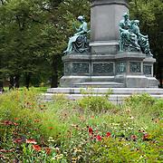 Humlegarden Park in Ostermalm, Stockholm, Sweden