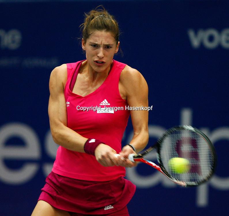 Generali Ladies Linz Open 2010,WTA Tour, Damen.Hallen Tennis Turnier in Linz, Oesterreich,.Andrea Petkovic (GER).