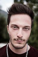 Giffoni Valle Piana - Giuseppe, 20 anni, amante del cinema e dei tauaggi.<br /> Ph. Roberto Salomone