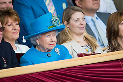 HRH Queen Elizabeth, Retirement, GBR,  Big Star<br /> Royal Windsor Horse Show - Home Park, Windsor 2017<br /> © Hippo Foto - Jon Stroud<br /> 14/05/17