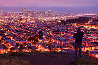 View from Bernal Heights, Morning