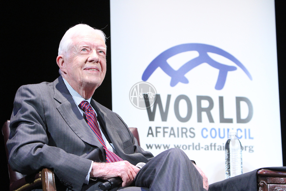World Affairs Council 60th Anniversary celebration with President Jimmy Carter.