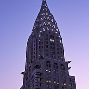 Chrysler Building in Manhattan at Twilight