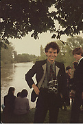 Dafydd at Eton, 1981. Photo by Nicholas Coleridge
