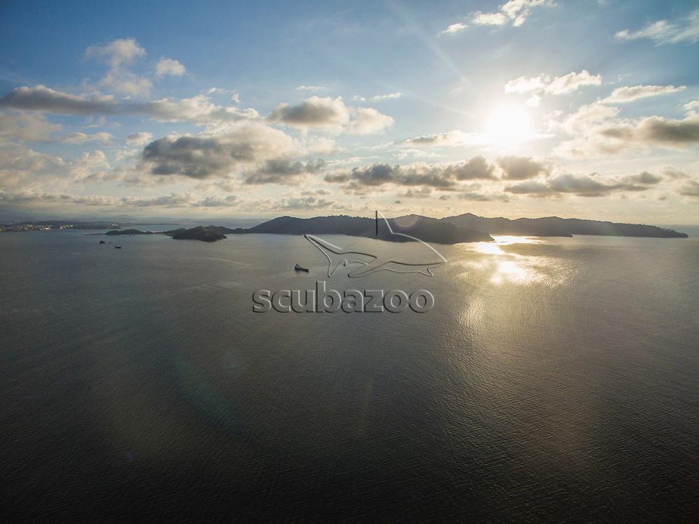 Arial of islands, Kota Kinabalu, Borneo, Malaysia, South China Sea,