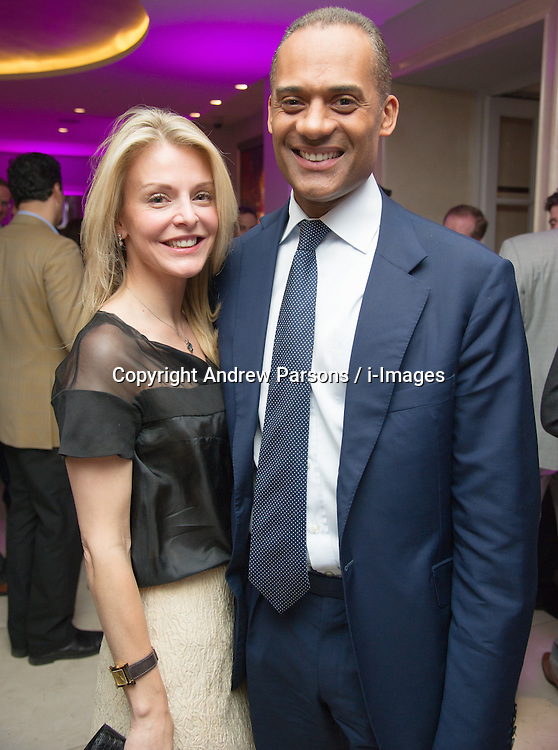 Conservative MP Adam Afriyie and his wife Tracy-Jane attend the Opening of the Westminster InterContinental Hotel, Thursday February 28, Photo By Andrew Parsons / i-Images