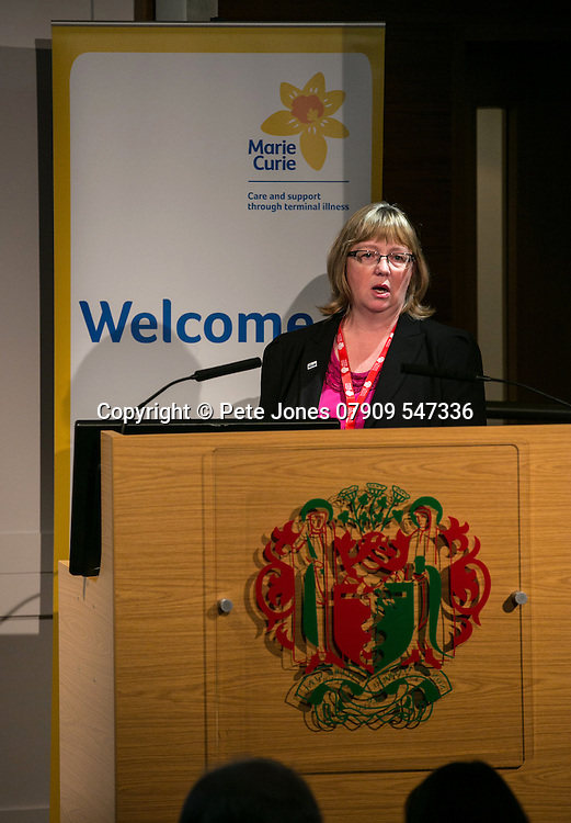 Marie Curie Palliative Care;<br /> Dr Deborah Fitzsimmons;<br /> Round the Clock Conference 2016;<br /> Royal Soc of Medicine, Wimpole St, London;<br /> 19th October 2016.<br /> <br /> &copy; Pete Jones<br /> pete@pjproductions.co.uk