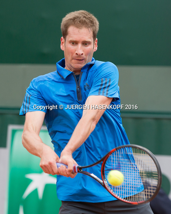 Florian Mayer (GER)<br /> <br /> Tennis - French Open 2016 - Grand Slam ITF / ATP / WTA -  Roland Garros - Paris -  - France  - 24 May 2016.