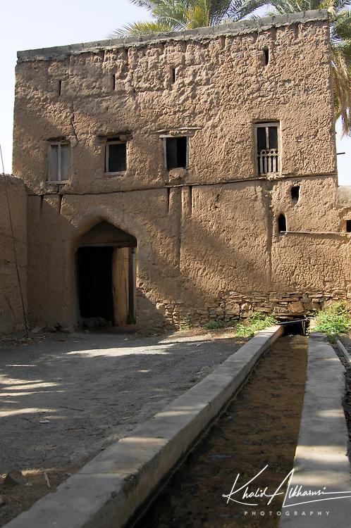 The old village in Birkat al Mouz, Oman. Located in Wadi Muaydin, very close Nizwa town