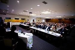Conference room at Management conference of Slovenian Football Federation, on March 10, 2009, in Hotel Kokra, Brdo pri Kranju, Slovenia. (Photo by Vid Ponikvar / Sportida)