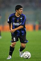 Fotball<br /> Italia Serie A<br /> Foto: Graffiti/Digitalsport<br /> NORWAY ONLY<br /> <br /> Roma 5/11/2005 <br /> <br /> Lazio Inter 0-0 <br /> <br /> David Pizarro Inter