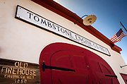 Tombstone Firehouse (1881), Tombstone, Arizona USA