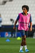 Chelsea midfielder Willan (10) during the Chelsea Training session ahead of the 2019 UEFA Super Cup Final between Liverpool FC and Chelsea FC at BJK Vodafone Park, Istanbul, Turkey on 13 August 2019.