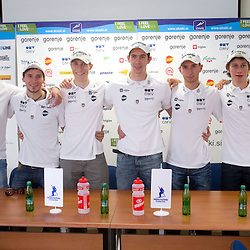 20111004: SLO, Ski-jumping - Press conference of Slovenian National team