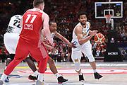 Jorge Gutierrez<br /> EA7 Emporio Armani Olimpia Milano - Dolomiti Energia Trentino<br /> Playoff - Finale - Gara 1<br /> LegaBasket Serie A 2017/2018<br /> Milano, 05/06/2018<br /> Foto M.Ceretti / Ciamillo-Castoria