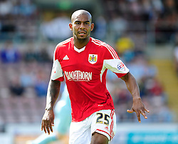 Bristol City's Marvin Elliott   - Photo mandatory by-line: Dougie Allward/JMP - Tel: Mobile: 07966 386802 11/08/2013 - SPORT - FOOTBALL - Sixfields Stadium - Sixfields Stadium -  Coventry V Bristol City - Sky Bet League One