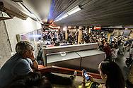 Roma, Lazio, Italia, 31/05/2016<br /> Concerto jazz di Geg&egrave; Telesforo e Max Ionata all'interno della stazione Metro Repubblica. E' il primo vero concerto all'interno della metropolitana di Roma. L'evento fa parte del progetto Tramjazz.<br /> <br /> Rome, Lazio, Italy, 31/05/2016<br /> Jazz concert of Geg&egrave; Telesforo e Maz Ionata into the Repubblica metro station. It's the first real concert organized into the metro of Rome. The event is part of the Tramjazz project