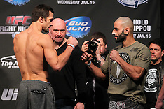 January 14, 2014: UFC Fight Night 35 Weigh-In's