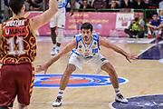 DESCRIZIONE : Campionato 2015/16 Serie A Beko Dinamo Banco di Sardegna Sassari - Umana Reyer Venezia<br /> GIOCATORE : Lorenzo D'Ercole<br /> CATEGORIA : Difesa<br /> SQUADRA : Dinamo Banco di Sardegna Sassari<br /> EVENTO : LegaBasket Serie A Beko 2015/2016<br /> GARA : Dinamo Banco di Sardegna Sassari - Umana Reyer Venezia<br /> DATA : 01/11/2015<br /> SPORT : Pallacanestro <br /> AUTORE : Agenzia Ciamillo-Castoria/L.Canu