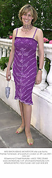 MRS SIMON SEBAG-MONTEFIORE she was Santa Palmer-Tomkinson, at a party in London on 4th July 2001.OPY 237