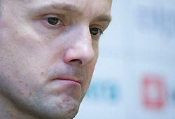 Jure Zdovc at press conference when announced that he is a new Slovenian Head coach of Basketball National team, on November 25, 2008 in City Hotel, Ljubljana, Slovenia.  (Photo by Vid Ponikvar / Sportida).