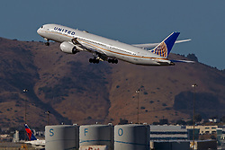 Boeing 787-9 Dreamliner (N27957) operated by United Airlines departing San Francisco International Airport (KSFO), San Francisco, California, United States of America