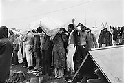 Rock Festival fans after a heavy rain at the Woodstock rock festival at Max Yasgur's 600 acre farm, in the rural town of Bethel, NY, on the weekend of August 16-18, 1969.