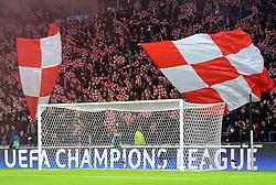 08-12-2015 NED: UEFA CL PSV - CSKA Moskou, Eindhoven<br /> PSV wint met 2-1 en plaatst zich voor de volgende ronde in de CL / Support publiek voor PSV