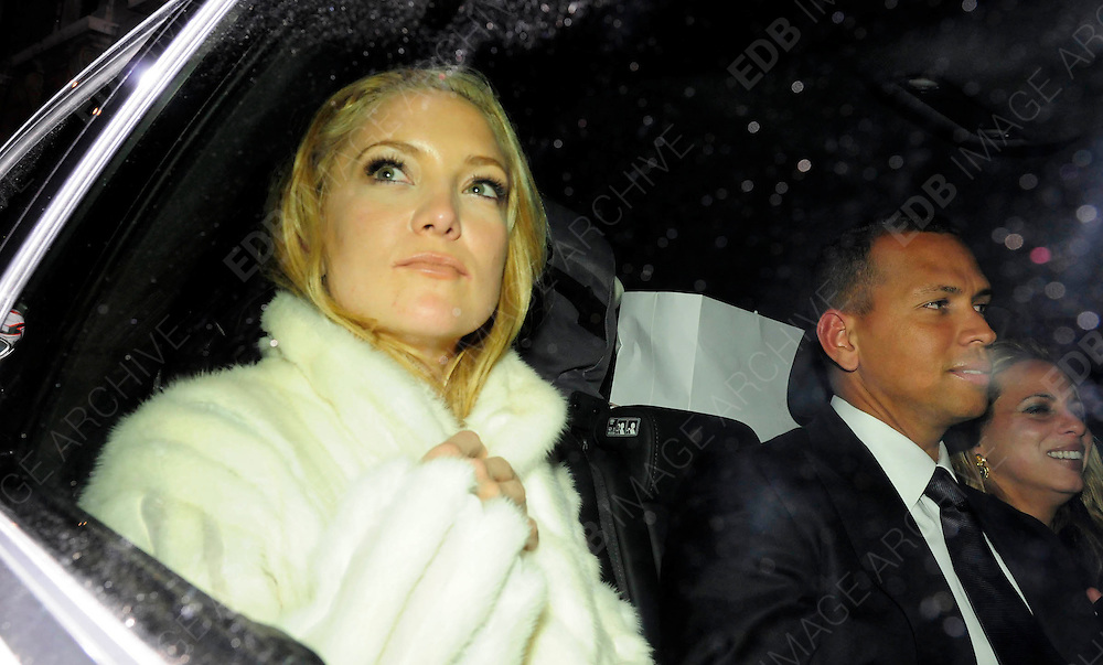 03.DECEMBER.2009 - LONDON<br /> <br /> KATE HUDSON AND BOYFRIEND ALEX RODRIGUEZ LEAVING THE AFTERPARTY AT CLARIDGES HOTEL AFTER THE PREMIERE OF KATE'S NEW FILM NINE AND HEADED TO ANNABELL'S CLUB IN MAYFAIR WHERE THEY STAYED TILL 1.30AM.<br /> <br /> BYLINE: EDBIMAGEARCHIVE.COM<br /> <br /> *THIS IMAGE IS STRICTLY FOR UK NEWSPAPERS &amp; MAGAZINES ONLY*<br /> *FOR WORLDWIDE SALES &amp; WEB USE PLEASE CONTACT EDBIMAGEARCHIVE-0208 954 5968*
