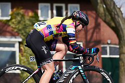 Lisa Klein (GER) at Healthy Ageing Tour 2019 - Stage 5, a 124.3 km road race in Midwolda, Netherlands on April 14, 2019. Photo by Sean Robinson/velofocus.com