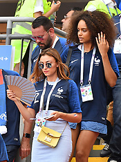 Alicia Aylies Attends France v Argentina - 30 June 2018