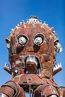 Closeup of El Pulpo Mecanico Mutant Vehicle