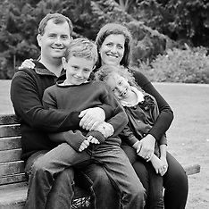 de Blank Family Portraits | San Francisco Botanical Garden Golden Gate Park