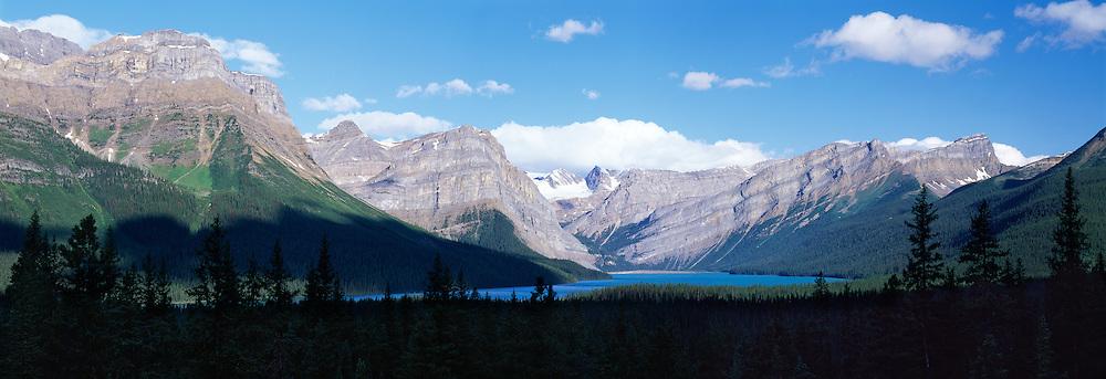 Hector Lake, Summer