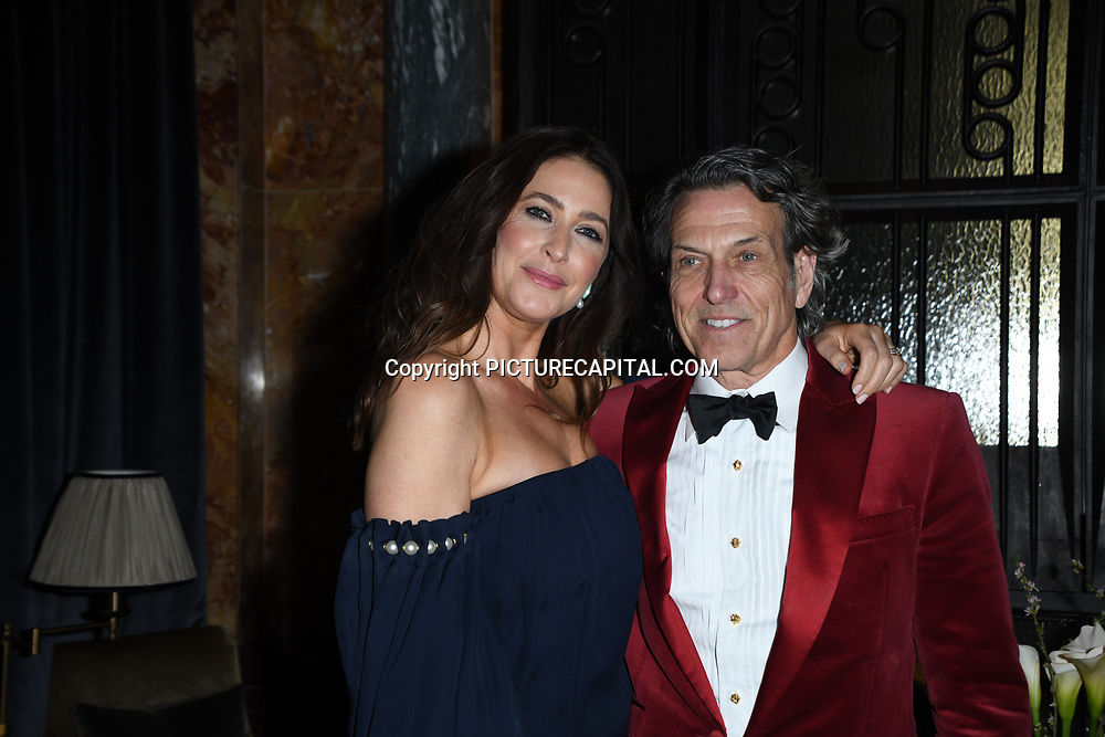 Lisa Snowden, Stephen Webster  attend Positive Luxury Awards 2020 at Kimpton Fitzroy London Hotel, 1-8 Russell Square, Bloomsbury, London, UK. 25th February 2020.
