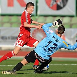 20090408: Football - Soccer - PrvaLiga Telekom Slovenije, NK Interblock vs NK Maribor