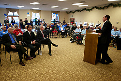 Wesley Enhanced Living at PennyPack Park, Philadelphia, PA- December 5, 2013; <br /> <br /> Dignitaries join residents and staff of Wesley Enhanced Living celebrating the 125th Anniversary of Evangelical Services for the Aging