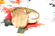 wedding ring still life