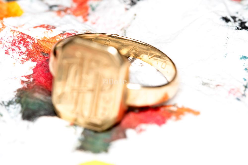 wedding ring still life